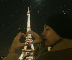 kim, paris, and bts image
