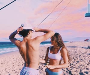 aesthetic, filter, and beach image