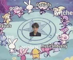 kpop, bts, and meme image