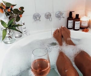 bath, luxury, and relaxation image