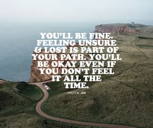 self-care, quote, and you'll be okay image