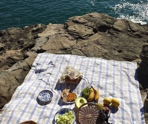 picnic, aesthetic, and fruit image