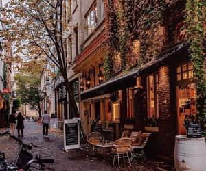 city, autumn, and belgium image