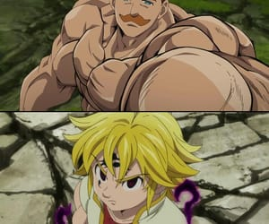 anime, the seven deadly sins, and anime boy image
