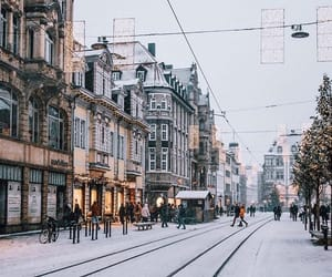 germany, winter, and europe image