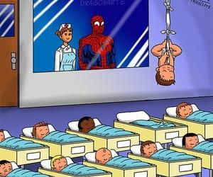 baby, spiderman, and aquaman image