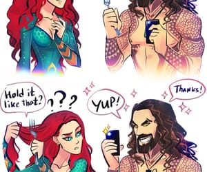 aquaman and mera image