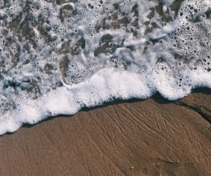 aesthetics, beach, and bubbles image