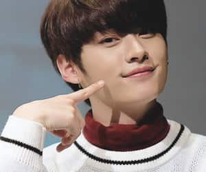 brown hair, fansign, and i am you era image