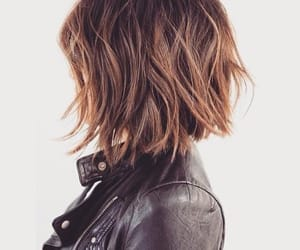 hair, hairstyle, and short hair image