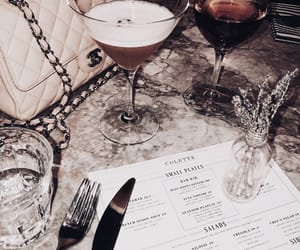 chanel, Cocktails, and drinks image