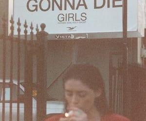 girl, die, and smoke image