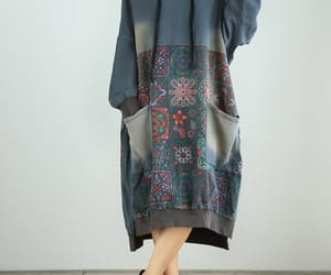 etsy, oversize dress, and hooded dress image