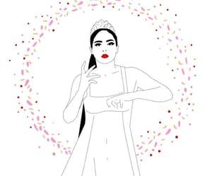 gif, mujer, and bailar image