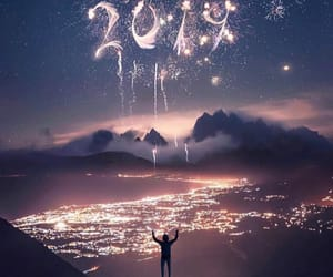awesome, fireworks, and year image