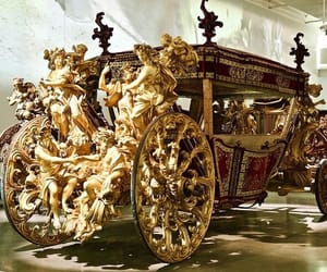18th century, art, and carriage image