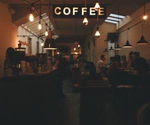 coffee, cafe, and coffee shop image