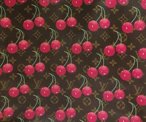 brand, fruit, and Louis Vuitton image