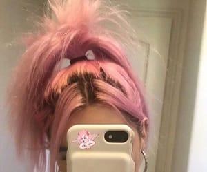 pink and haïr image