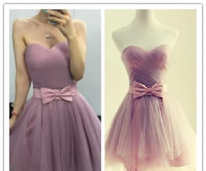 pink prom dress and cute prom dress image