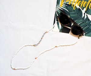 beaded necklace, glasses necklace, and glasses holder image