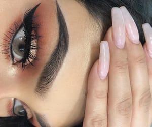 eye makeup, eyes, and luxury image