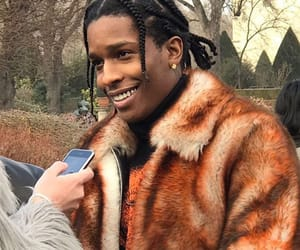 fashion, fur, and asap rocky image