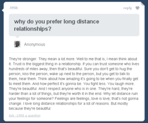 distance, long, and love image
