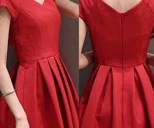 red prom dresses and homecoming dresses short image
