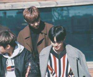 hwang minhyun, wanna one, and lee daehwi image