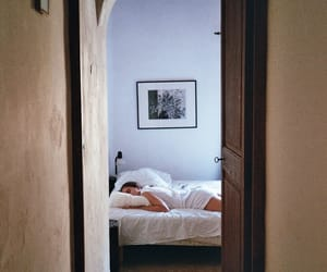 bedroom, interior, and cozy image