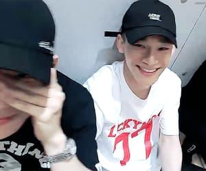 Chen, gif, and jongdae image