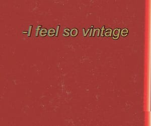 red, vintage, and quotes image