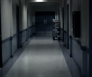 corridor, hospital, and psychiatric image