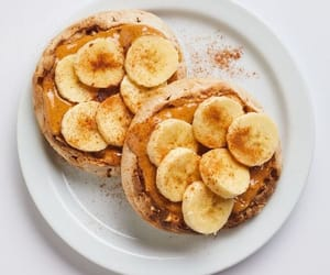 banana, food, and sweet image
