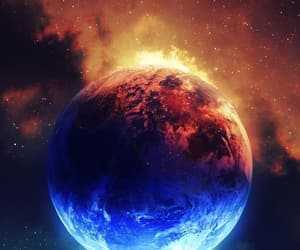 blue, earth, and harmony image