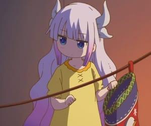 anime, dragon maid, and anime girl image