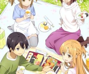 anime, sword art online, and kawaii image
