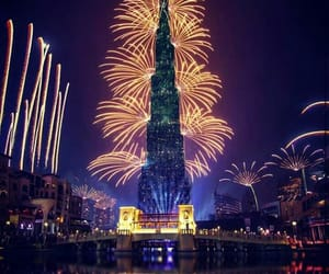 beautiful, new year, and dubaï image