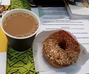 coffee, donut, and event image
