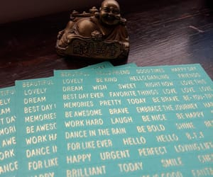Buddha, crafting, and planner image