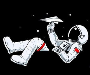 wallpaper, astronaut, and space image