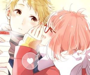 anime, anime boy, and kyoukai no kanata image