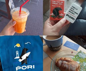 food, juice, and pori image
