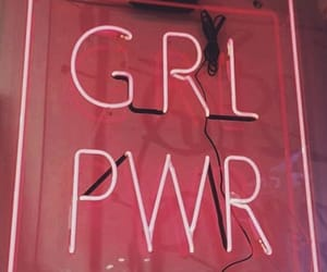 girl, pink, and grlpwr image