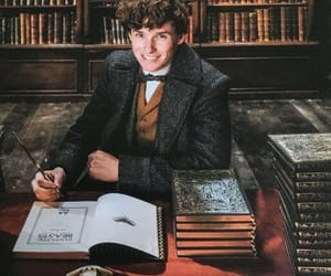 books, eddie redmayne, and fantastic beasts image