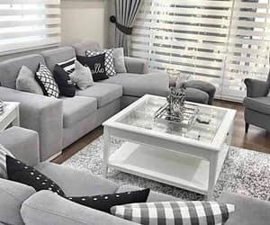 home, decor, and grey image