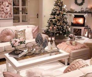 christmas, interior, and home image