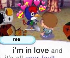 wholesome, animal crossing, and meme image