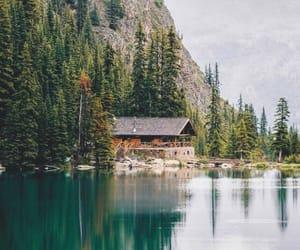 lake, nature, and mountains image